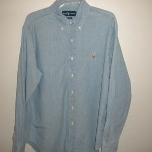 Ralph Lauren Men Size Large Classic Fit Shirt